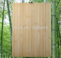 bamboo chopping boards - Natural Bamboo Chopping Board Antibacterial Cutting Rectangular Solid Wood x x CM