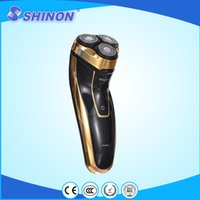 Wholesale Shinon triple head rotating razor shaving machine for home and travel use
