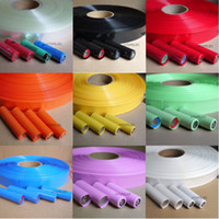 heat shrink - 18650 battery PVC Heat Shrink Tubing Re wrapping battery various colors per M for sony vtc3 vtc4 vtc5 samsung Panasonic LG batteries