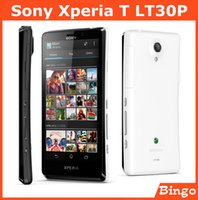 android gps t mobile - Original Sony Xperia T LT30P unlocked mobile phone Sony LT30p GB Dual core G GSM WIFI GPS MP Smartphone dropshipping