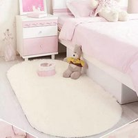 Wholesale New Design CM Plush Rug Mat Magic Slip Resistant Pad Bedroom Oval Carpet Floor Mats Floor Door Mat