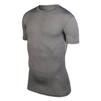 Wholesale New Arrival Men Compression Base Layer Tee Shirts Athletic Tops Sports Collection New S XXL