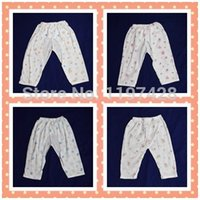 beautiful pajamas - baby pants100 cotton and different beautiful print pattern pajamas opened non opened file GG01