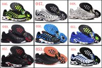 Wholesale 18 Colours High Quality Air Plus TN Yellow Black Red Blue Gray Men Running Sport Sneakers Trainers Shoes