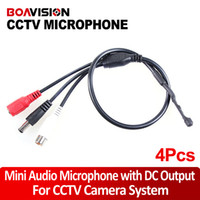 audio dc - Mini Mic Audio Microphone with DC output for CCTV Security DVR