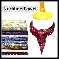 Wholesale Nanometre Waterproof Cravat Man Neckline Towel Colors Jacquard Weave Women Men Cravat Wedding Party Fashion Accessories Chrismas Gifts