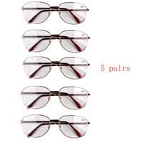 bifocal sun glasses - R0111 new metal frame bifocal lens men women reading glasses sun glasses