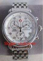 michele watch - Michele Watch CSX Diamond women Dial stainless steel chronograph watch New MW03M00A0046