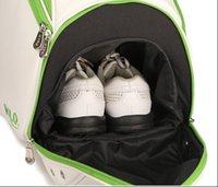 brand golf equipment - hot sale po golf clothing bag women clothe bags shoe golf light bag free ems brand clothes bags cart golf sport equipment boston