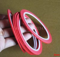 appliances sprays - mm m Red Masking Tape Crepe Paper Tape Used For Manicures Interior Decoration Household Appliances Paint Car Spraying MT025