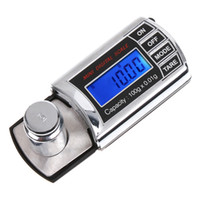 Wholesale Professional Mini Portable LCD g g Digital Pocket Jewelry Scales Precision Balance Diamond Weight Weighing Scale H1995
