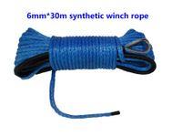 atv winch accessories - mm m winch line for atv winch synthetic winch rope for winch accessories synthetic rope