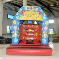 backyard party - AOQI Party decoration candy inflatable bouncer castle classic jumping inflatable bouncer cheap inflatable bouncy house for kid