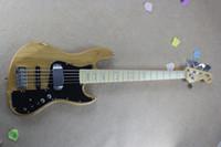 Wholesale Hot sell New F Marcus miller strings Signature custom model Natural bass guitar