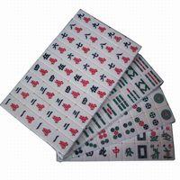 Wholesale M003 Mini Mahjong Mah jong Mah jongg Mah jong Games Carved Tile in case with Melamine tiles