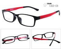 al por mayor frame ultem-Los nuevos marcos de las lentes del ultem de la manera 10pcs / lot, vidrios ópticos llanos, marcos ópticos del acetato aceptan colores mezclados 1302