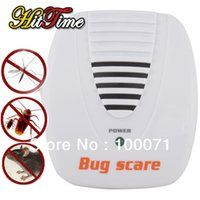Wholesale Electronic Ultrasonic Mouse Mosquito Rat Pest Control Repeller Bug Scare Machine