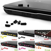 Wholesale Hot Sales Set Silicone Anti Dust Ports Plug Stopper Cover Set For Laptop Notebook Cx81