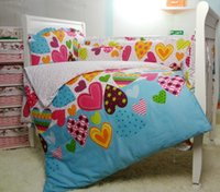 baby nursery bedding for boys - 100 Cotton Baby Quilt Nursery Comforter Cot Crib Bedding Set Bumper for Girl and Boy Cartoon Design