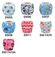 Wholesale 2014 Alva Reusable and Washable Baby Swimming Diaper