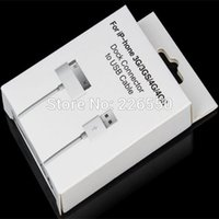 Wholesale Retail Paper Package boxes for Pin iPhone s g USB Cable Charger Sync Cord