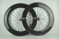 racing bicycle - Carbon Wheels mm Clincher C Carbon Road BIke Wheels glossy finish racing Bicycle Wheelset Tubular Available