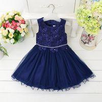 achat en gros de vêtements plastique filles-Robe de Fleur Nouveau Robe de Mariage