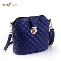 Wholesale 2015 New Plaid Chains Women Messenger Bags Five Colors Practical Women Bag Small Pu Women Shoulder Bag Crossbody Bags Clutch