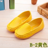 Wholesale 2016 spring autumn Girls Single Shoes For Summer PU Leather Children Shoes Euro Size Kids Loafers Girls children shoes boy