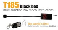 Wholesale T185 Wireless remote control Module camera Button mini Camera Motion detection DIY Camera HD P H MOV Mini DVR in retail box