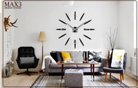 antique clock faces - 2016 new home decor living room quartz modern wall clock fashion diy art single face large decorative clocks