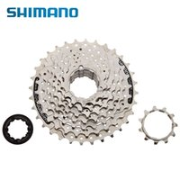 Cheap SHIMANO CS-HG41-8 MTB Mountain Bike Bicycle 8S Cassette Freewheel 8 Speeds Flywheel 11-32T Teeth Crankset Bicycle Parts 312g