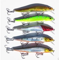 Wholesale 5Pcs New mm g Large Popper Plastic Artificial Minnow Fishing Lure Hard Bait Fish hook Fishing Tackle