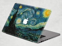 Wholesale starry sky Removable Vinyl Decal Sticker Skin for Apple Macbook Air Pro inch