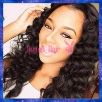 baby silk mix - Glueless Silk Base Top Full Lace Wig Brazilin Virgin Hair Curly Human Hair Wigs Lace Front Wigs Bleached Knots Baby Hair in stock