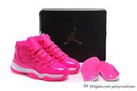 girls basketball shoes - dan Basketball Shoes Womens Retros XI Hot Pink Basketball Shoe Girls Sports Shoes New Arrivals