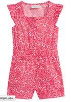 Wholesale New Summer Ruffle Romper For Girls Children Sleeveless tank straps poplin Tonal printed
