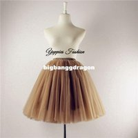 american appareal - 100 Real Photos Tulle Skirt Women Skirts Layers Mini Adult Tutu American Appareal Ball Gown Faldas Saias Femininas YFS020550