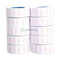 Wholesale 10x Paper Tag Price Label Sticker Single Row for MX Price Gun Labeller S7NF