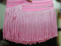 Wholesale Meter Latin Dance Skirt Fringe Tassels Dance Clothing Accessories Stage Fabric Accessories Clothing Tassel cm