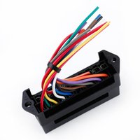 Wholesale 10 Way DC32V Circuit Car Trailer Auto Blade Fuse Box Block Holder ATC ATO input ouput Wire order lt no track