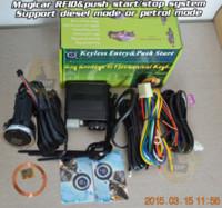 Cheap ardot NEW RFID ignition push start button,transponder immobilizer tag,petrol&diesel mode,passive keyless entry engine lock car keyles...
