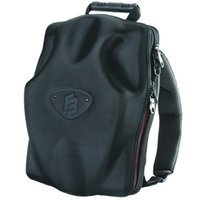 Sacs de jour noir Avis-Coque rigide en EVA sac à dos Noir sac d'ordinateur portable en plein air sac à dos sac à dos anticollision équitation CrashProof sac pour la journée