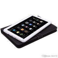 Wholesale 2015 quot Quad Core Android4 Tablet PC MTK8127 Dual Camera Capacitive GB G HDMI GPS FM With Keyboard Case