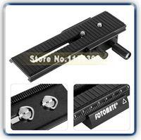aluminum number plate - LP Camera tripod head way Macro Focus Rail Slider Tripod Plate Tracking Number