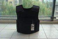 Wholesale New Black Combat Tactical Soft Bullet proof vest IIIA NIJ0101