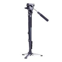 Wholesale Best Camera Tripods Yunteng Camera Monopod Fluid Pan Head Unipod Holder For Canon Nikon DSLR