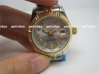 Wholesale Luxury style ladies brand watches women automatic movement Diamonds wrist watch R26