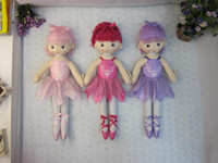 cloth doll - New selling JX3601 cm cm cm ballerina dolls cute dancing for girls plush dolls toys for babies toys