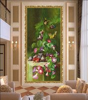 Wholesale Painting Picture Plants Flower Of European Painting Wall Art Printed Wall Pictures For Living Room On Canvas No Frame